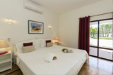 Double bed at Rocha Brava